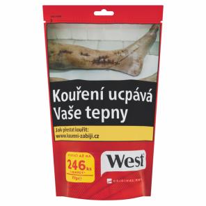 Tabak WEST 105g XL RED Z 527Kc *16*