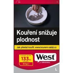 Tabak WEST 60g RED  TT    308 *21*
