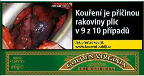 Tabak GOLDEN VIRG. 30g 231kc TT *10