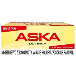 Dutinky ASKA RED 250 ks  34kc  *40*