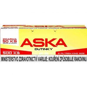 Dutinky ASKA RED 500 ks  58kc  *16*