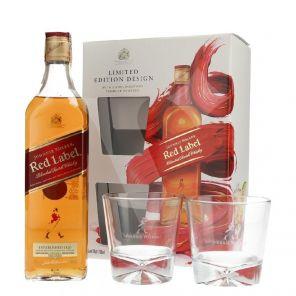Johnnie Walker 0.7l + 2sklenicky40%