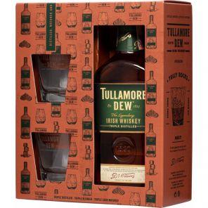 Tullamore 0.7l 40% + 2x sklo
