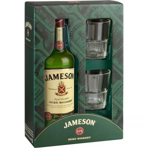 Jameson 0.7l 40% + 2x sklo