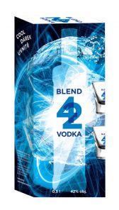 Vodka 42 0.5l 42% + 2x SKLO !!!