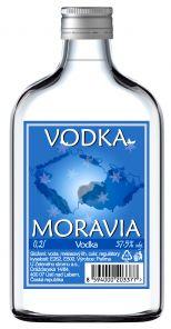 Moravia Vodka 0.2l 37.5% Pal.  *16*