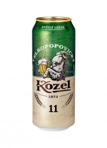 Kozel 11o 0.5l PLECH           *24*
