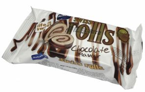 VK Swiss rolls 50g cokolada    *24*