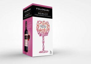 GIV FOLONARA Merlot box 3l