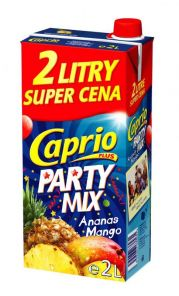 Caprio 2l Party MIX Ananas+mango*6*