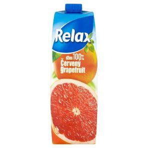 RELAX 1l cerveny grep 100%     *12*