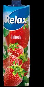 Relax 1l Jahoda+duzina Select  *12*