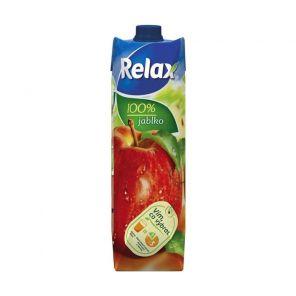 Relax 1l Jablko 100%           *12*