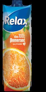 RELAX 1l Pomeranc 100%         *12*