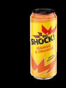 SHOCK 500ml Mango-orange     *24
