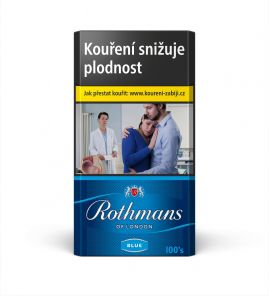Rothmans of London 100 BLUE F 116.