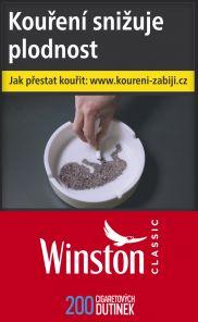Dutinky WINSTON RED 200  32.-  *50*