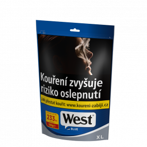 Tabak WEST 105g XL BLUE Z 527kc *16
